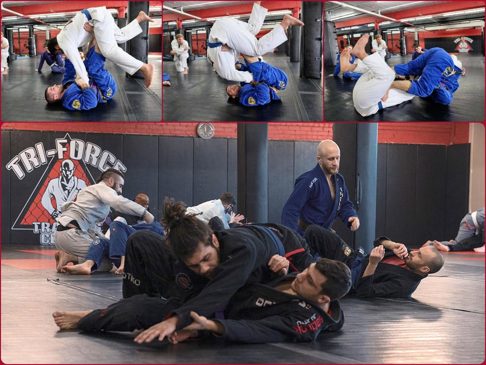 Brazilian Jiu-Jitsu Classes - Tri-Force MMA - Pawtucket