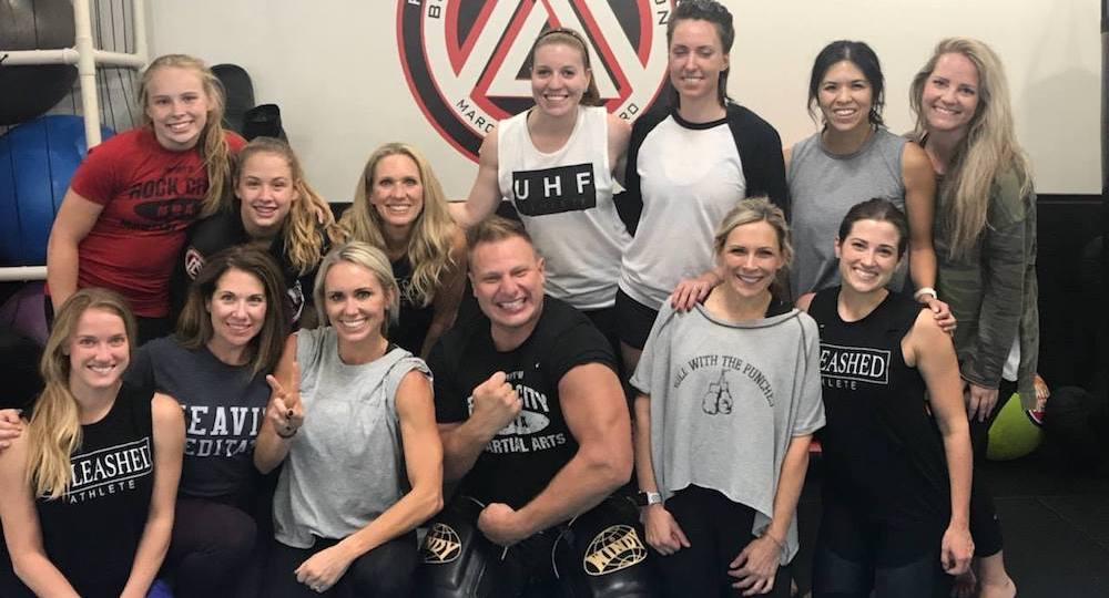 Little Rock Women's Self-Defense - Rock City MMA - Little