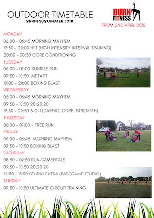 Outdoor Fitness Training in Blackheath