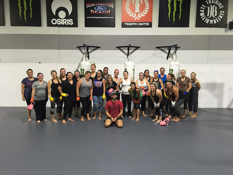 Kickboxing in Huntington Beach