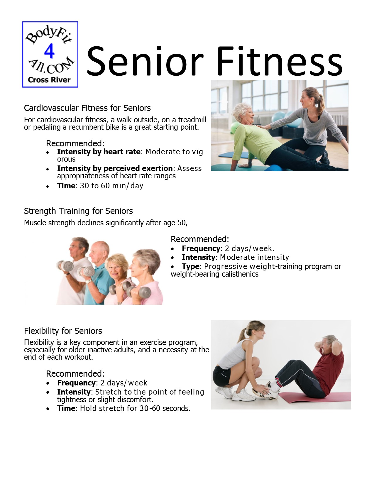 Treadmill Workouts For Seniors – EOUA Blog