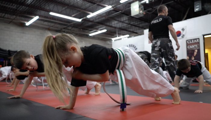 field martial arts kids karate norwood