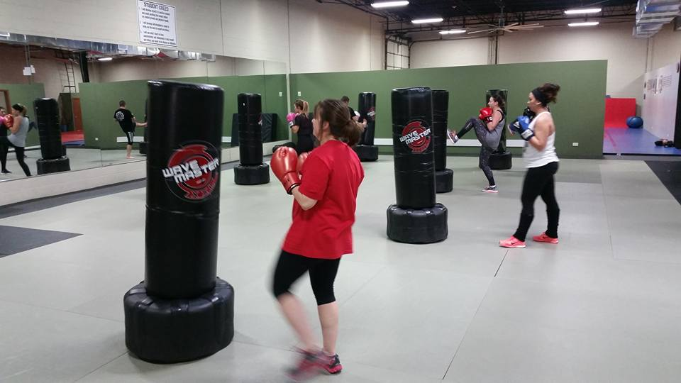 fitness kickboxing in buffalo grove