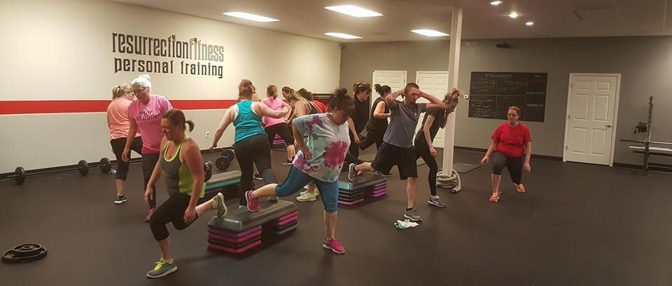 resurrection fitness personal training o'fallon