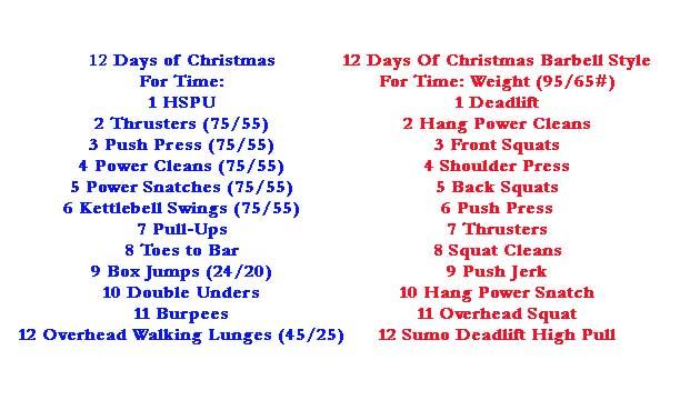 12 Days of Christmas - TOMORROW At