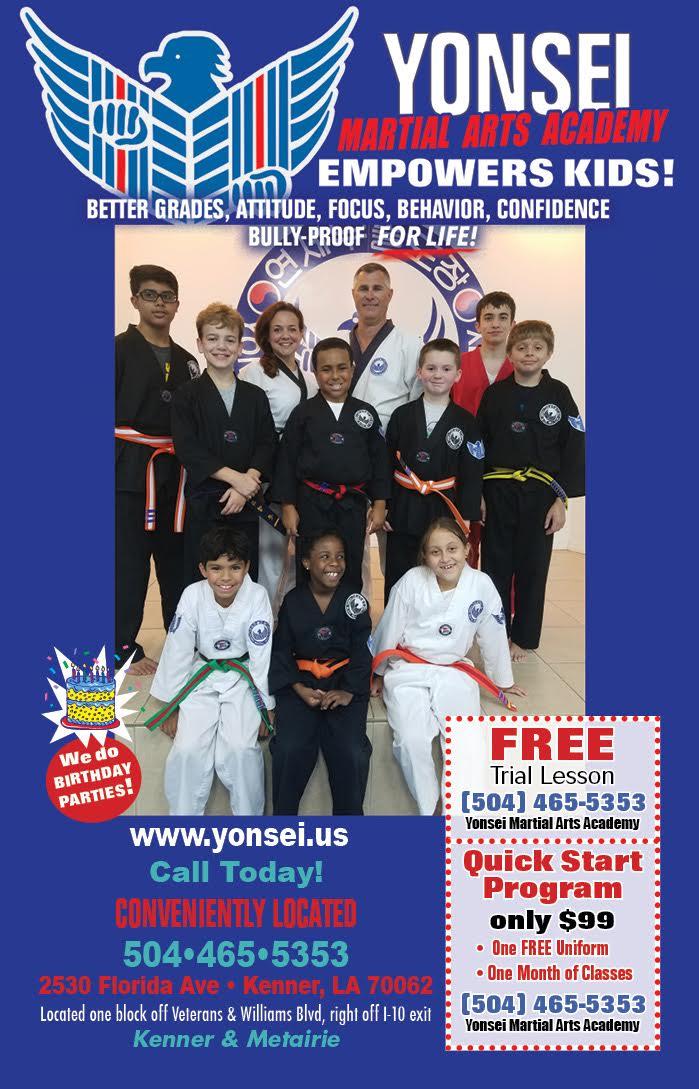 kids martial arts kenner