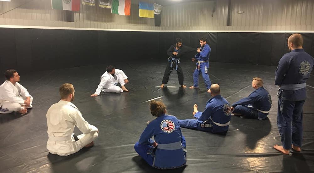 Brazilian Jiu Jitsu near Asheville