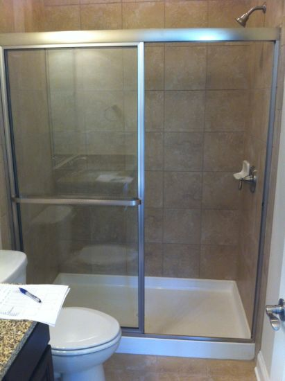 Framed Shower Doors near Atlanta