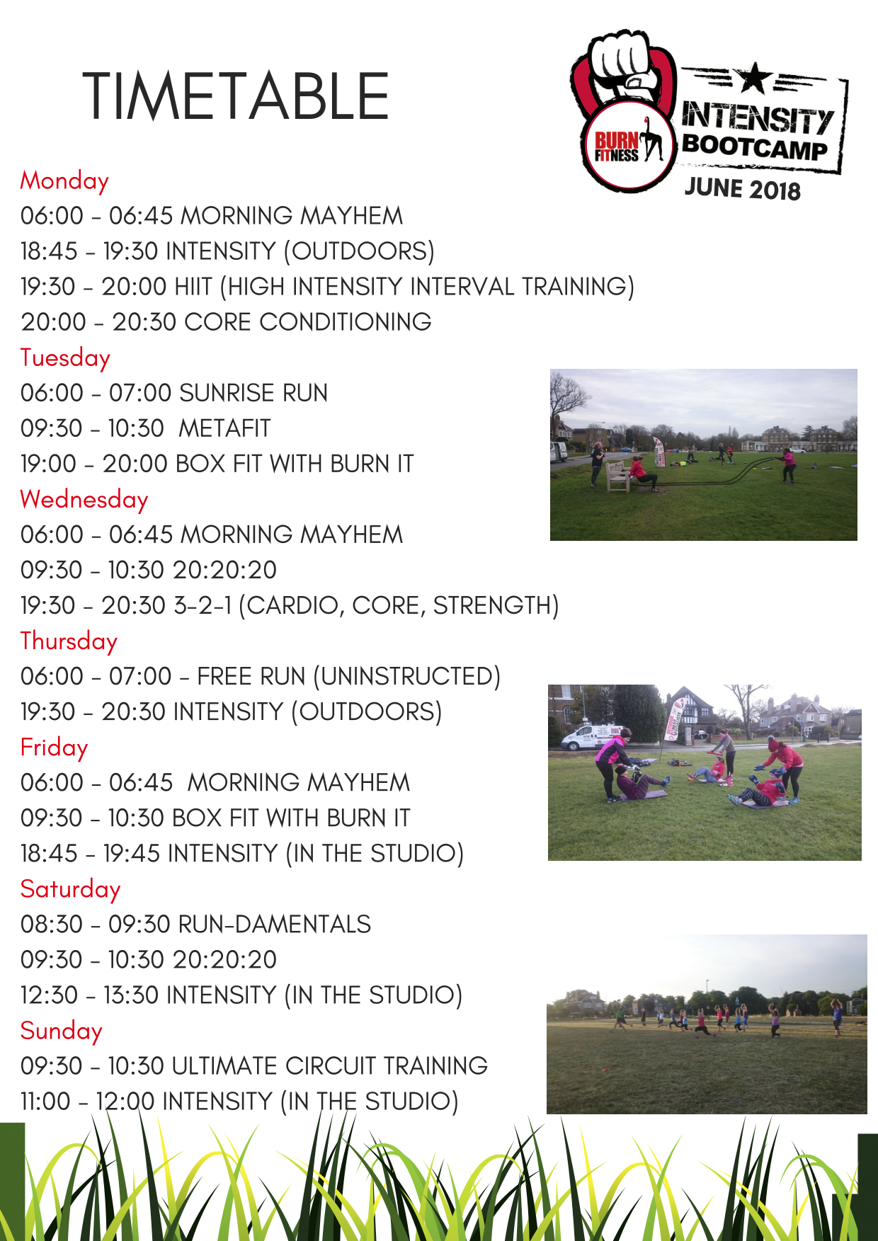 Intensity Bootcamp Blackheath