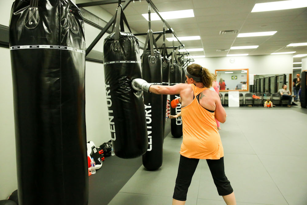 Womens Kickboxing Woodward