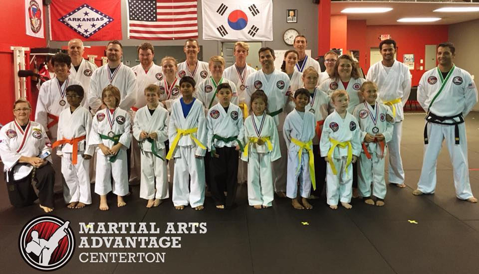 Martial Arts Advantage Centerton Group Photo