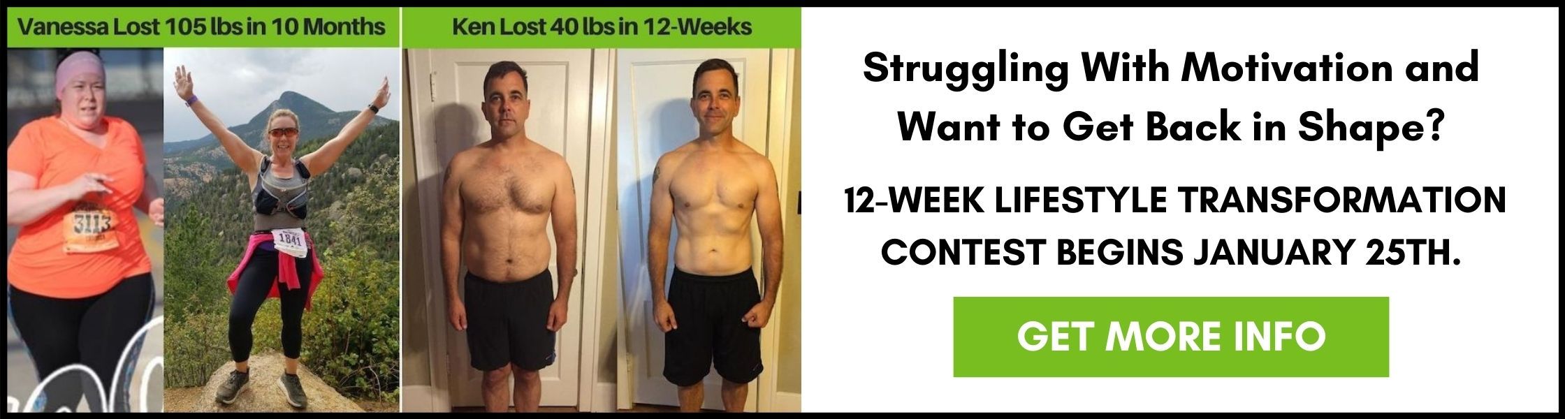 12 WEEK LIFESTYLE TRANSFORMATION - WICHITA PERSONAL TRAINING AND NUTRITION