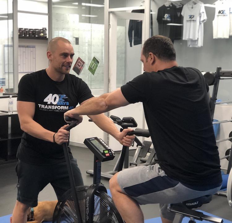 transform 40 personal training cronulla