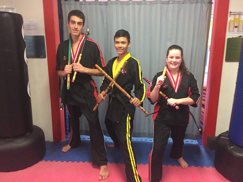 Warrior Club Weapons Program Classes - Nerang - Queensland
