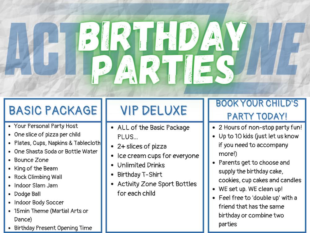 Birthday Parties near Pearland