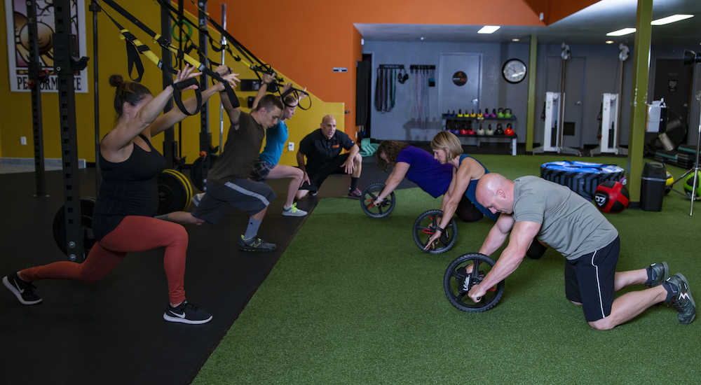 Group Fitness near Redding