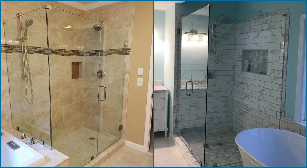 Frameless Shower Doors near Lawrenceville
