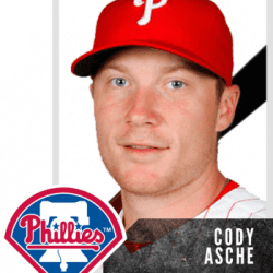 Cody Asche- Philadelphia Phillies