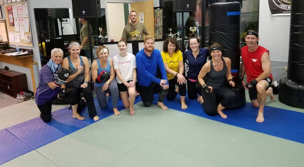 Kickboxing near Hockessin