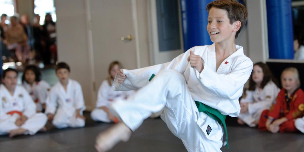 Kids Martial Arts near Belmont