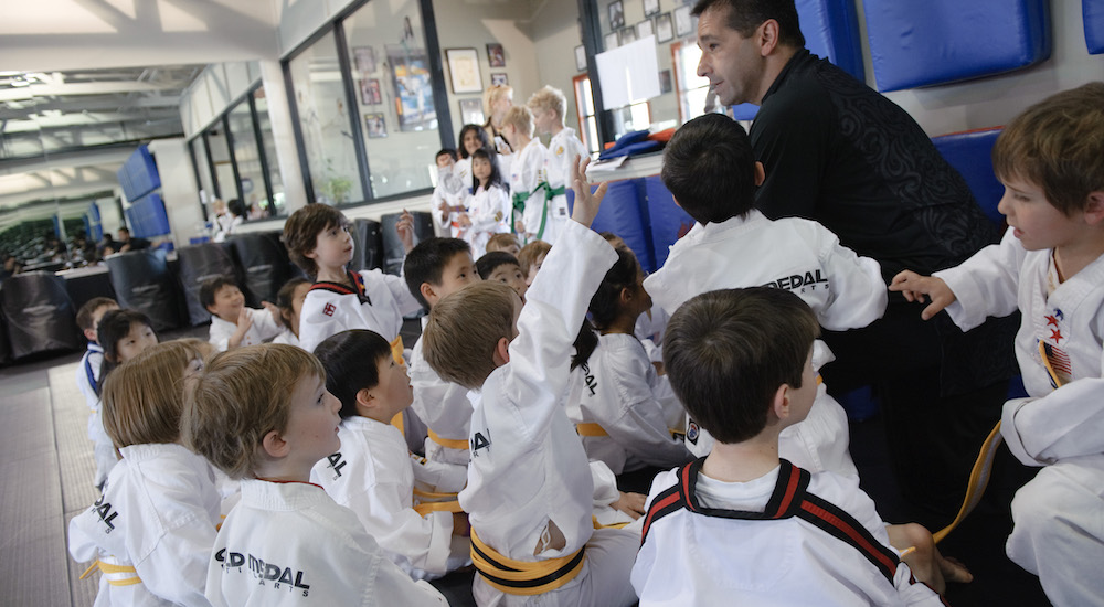 Preschool Martial Arts near Belmont