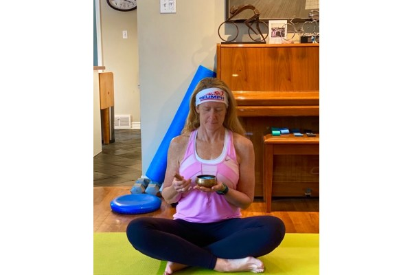 Hatha Flow Yoga Practice with Singing Bowl