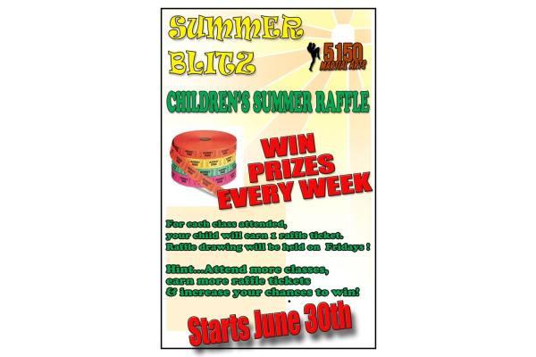 Summer Sizzle Attendance Contest
