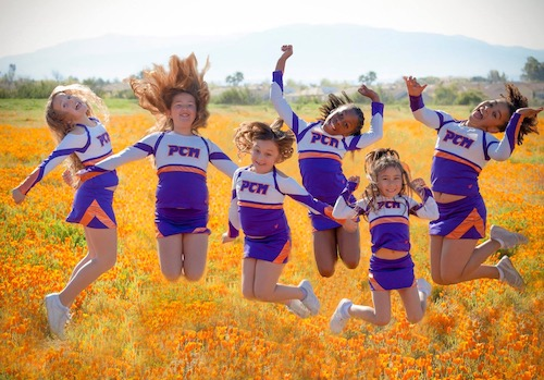 Cheerleading near Murrieta