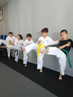 pacific taekwondo kids karate rancho cucamonga