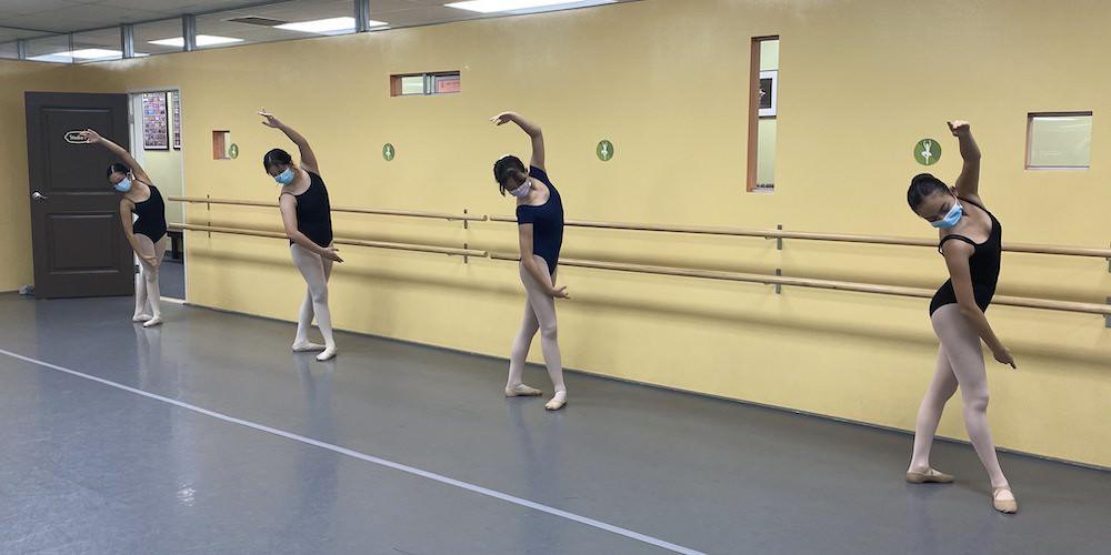 Ballet near Monrovia