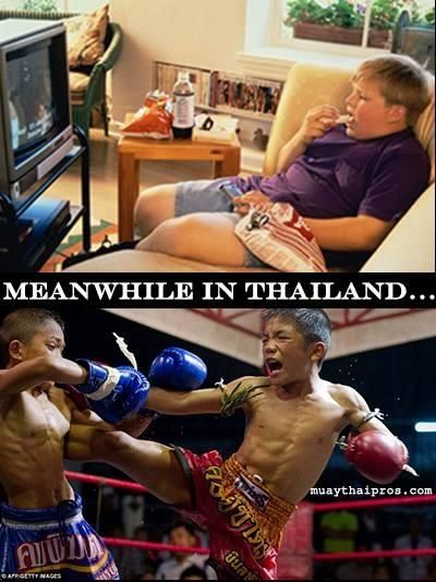 us kids vs thai kids
