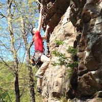Josiah Kortje in Wichita - Bliss Climbing and Fitness