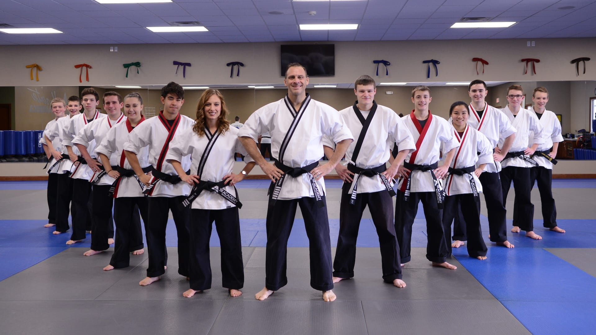 Jeff and Amanda Denu in Appleton - The Academy - Martial Arts Leadership