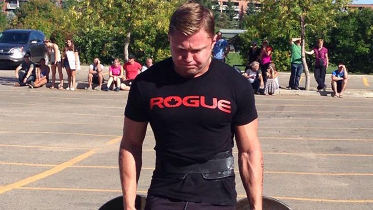 Shane Hancock in Winnipeg - CrossFit Corydon