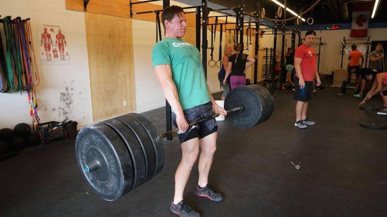 Taylor Wallace in Winnipeg - CrossFit Corydon