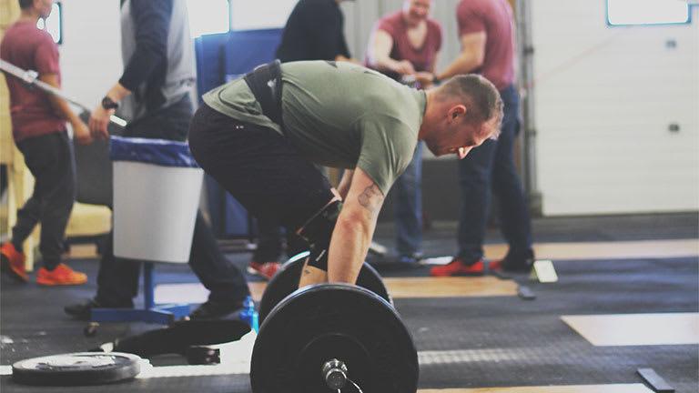 Tyler Burns in Winnipeg - CrossFit Corydon