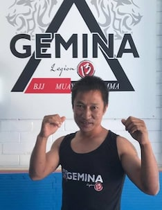 John (Ninthang) in Port Kennedy - Gemina Mixed Martial Arts