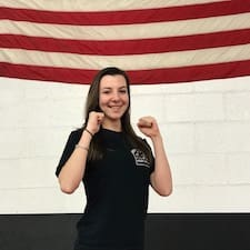 Kristina Giordano in CAMBRIDGE - American Martial Arts Center