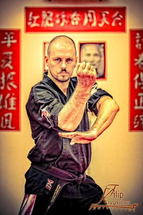 Brett Fenton in Caboolture - Red Dragon Martial Arts