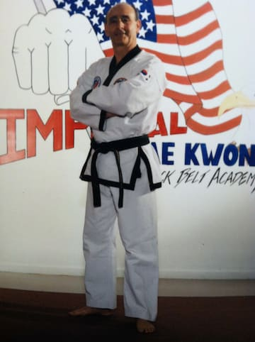 Master Tony Ianicelli in Shrewsbury - Imperial Martial Arts