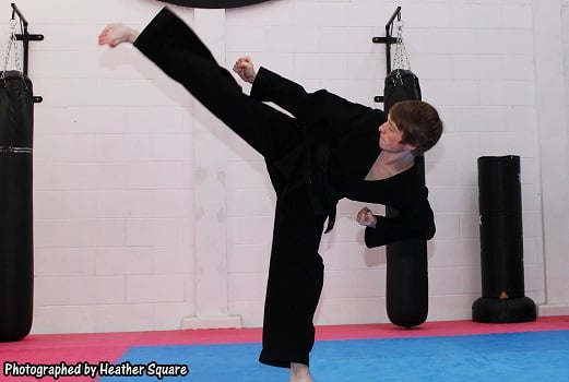David Hull in Waltham Abbey - Alex Hart's Kaizen Martial Arts