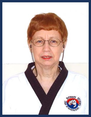 Master Betty Brewer in Richmond - Dong's Karate