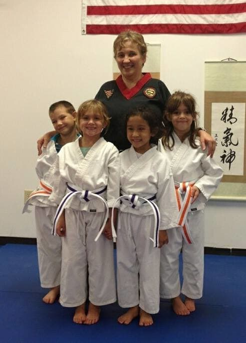 Sensei Angie Warga in South Daytona - New Life Martial Arts