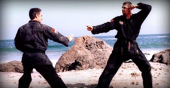 Sensei Brian Simmons in Sparks - Shin Gan Dojo