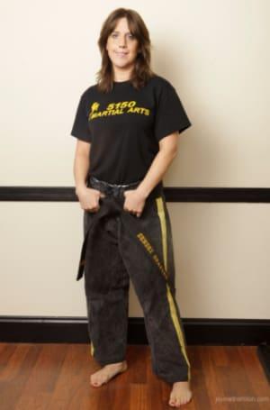 Sensei Irene Shapiro in Nyack  - 5150 Martial Arts