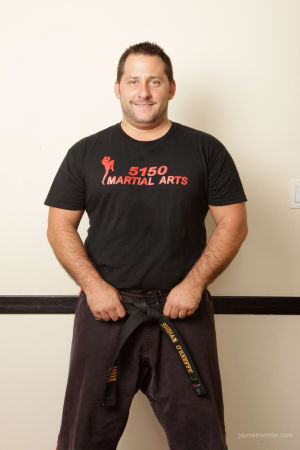 Professor Scott O'Keeffe in Nyack  - 5150 Martial Arts