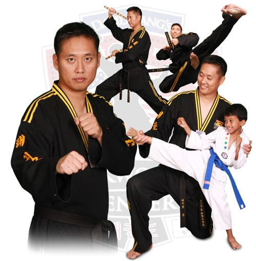 Master David Kang in Rancho Santa Margarita - David Kang's Taekwondo Center