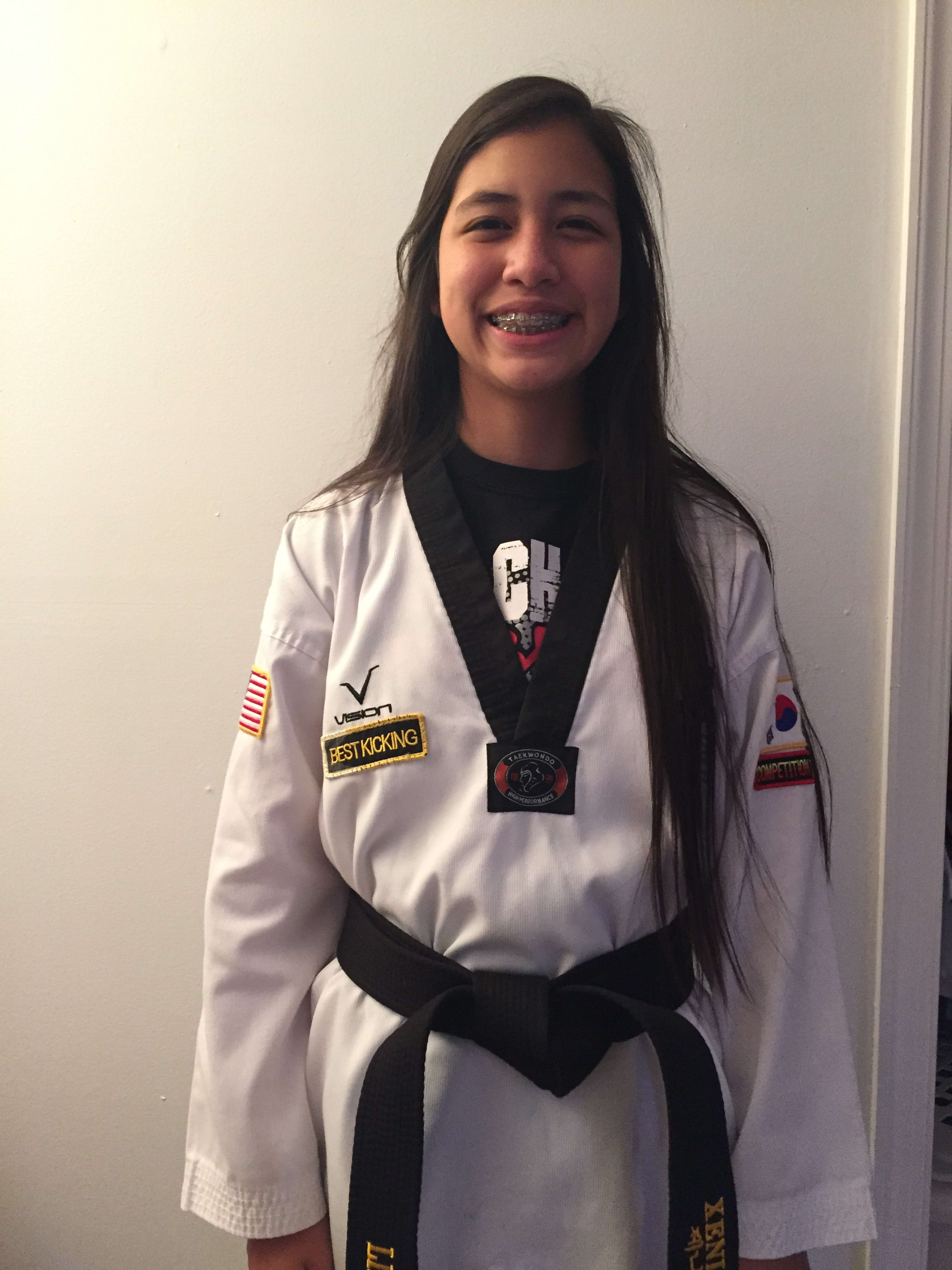 Ms. Xenia Vasquez in Woodbridge - Life Champ Martial Arts
