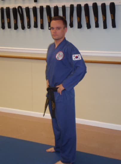 "Marshall ""Dek"" Wright in Shrewsbury - Imperial Martial Arts"