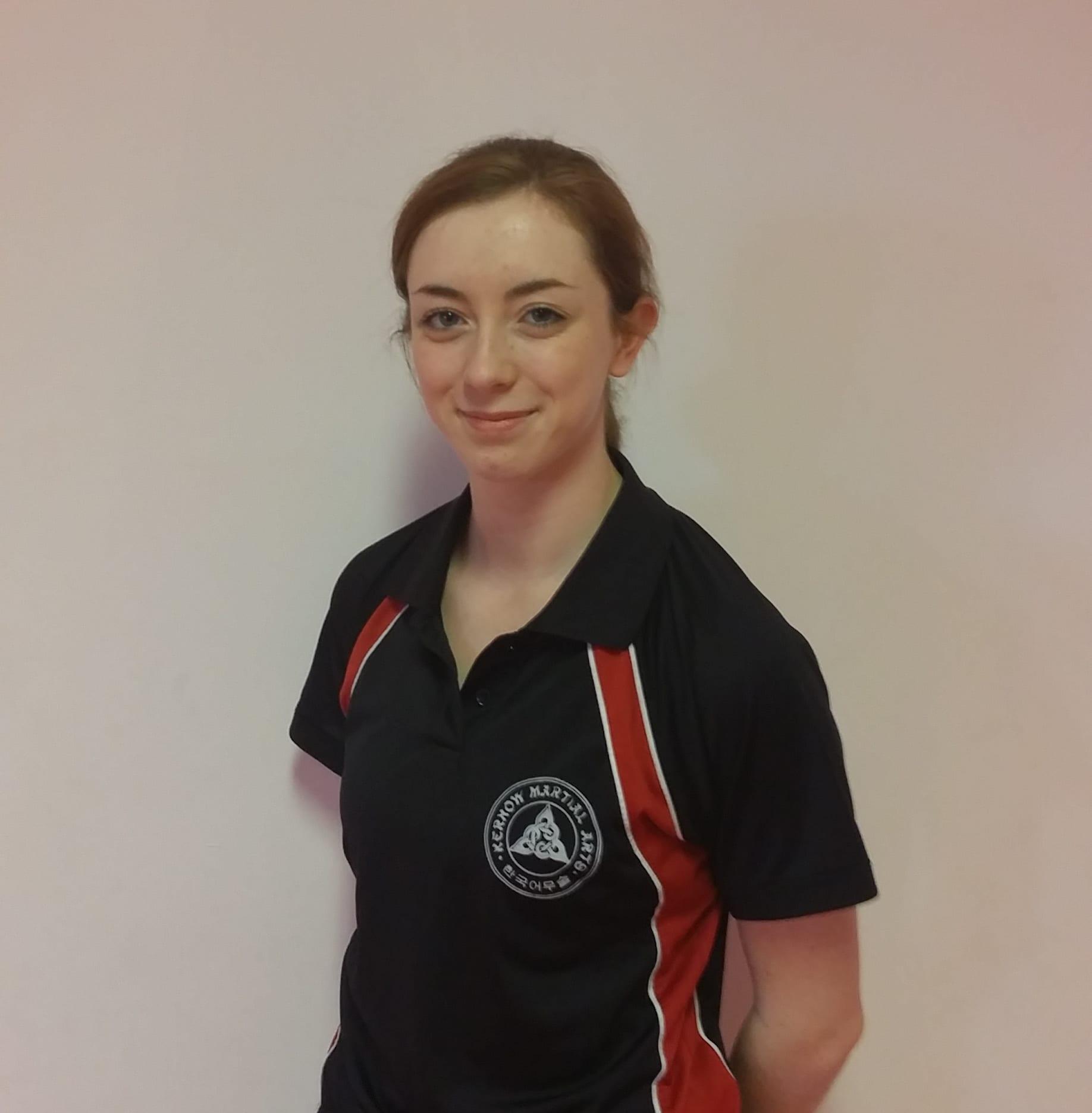 Ellena Harrison in St. Austell - Kernow Martial Arts
